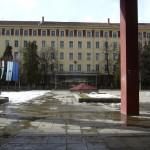 Eingang der TU Sofia