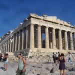 Das obligatorische Foto - die Akropolis